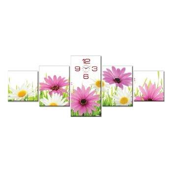 Đồng hồ tranh hoa cúc dại Dyvina 5T-2