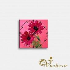 Đồng hồ tranh Hoa đồng tiền Vicdecor DHT0181