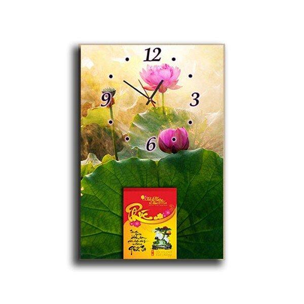 Đồng hồ tranh lịch treo tường Suemall DHL140904