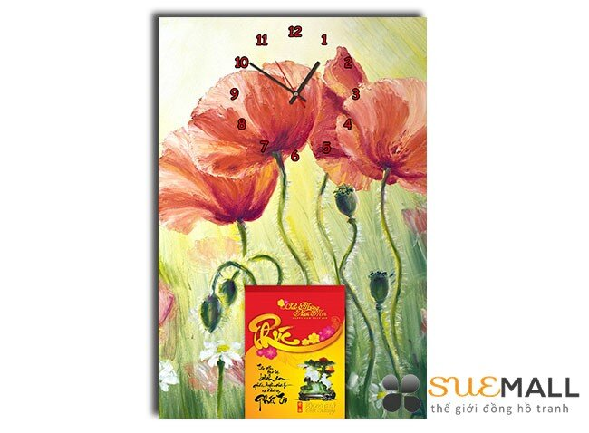 Đồng hồ tranh lịch treo tường Suemall DHL140908