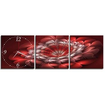Đồng hồ tranh-Lông vũ-DHT0163