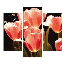 Đồng hồ tranh-Những cánh hoa mềm mại-DHT0133