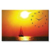 Đồng hồ tranh thuyền và biển Dyvina