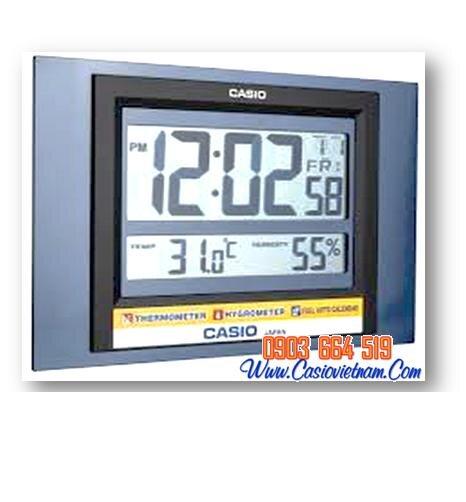 Đồng hồ treo tường - để bàn Casio ID-16S chính hãng