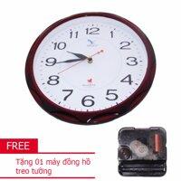 Đồng hồ tròn treo tường MitaCo- M80T 34cm