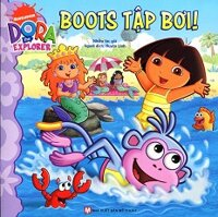 Dora The Explorer - Boots Tập Bơi