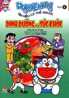 Doraemon Tìm Hiểu Cơ Thể Người - Dinh Dưỡng Và Sức Khỏe