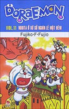 Doraemon - Truyện Dài - Tập 11 - Nobita Ở Xứ Sở Nghìn Lẻ Một Đêm
