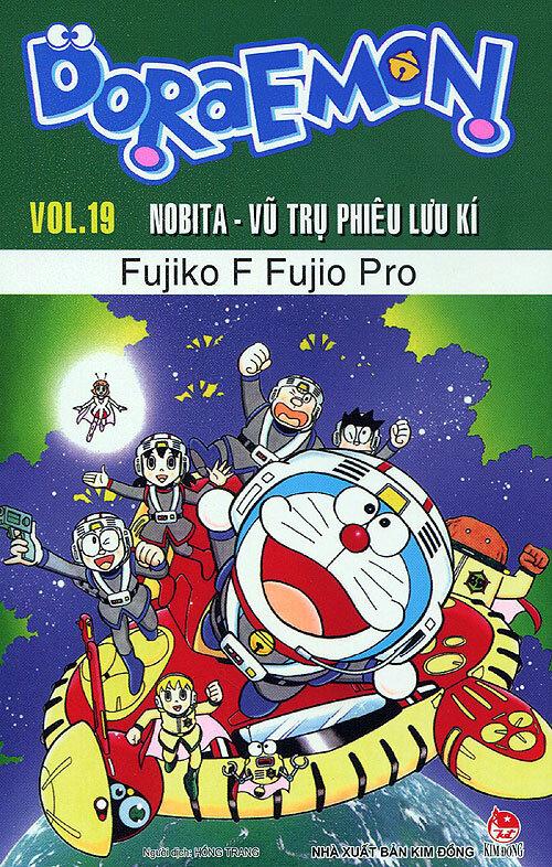 Doraemon truyện dài - Tập 19 - Nobita - Vũ trụ phiêu lưu ký