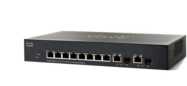 Switch Cisco SF352-08-K9-EU - 8 port