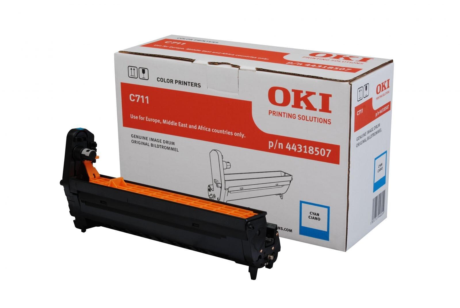 Drum laser màu OKI C711