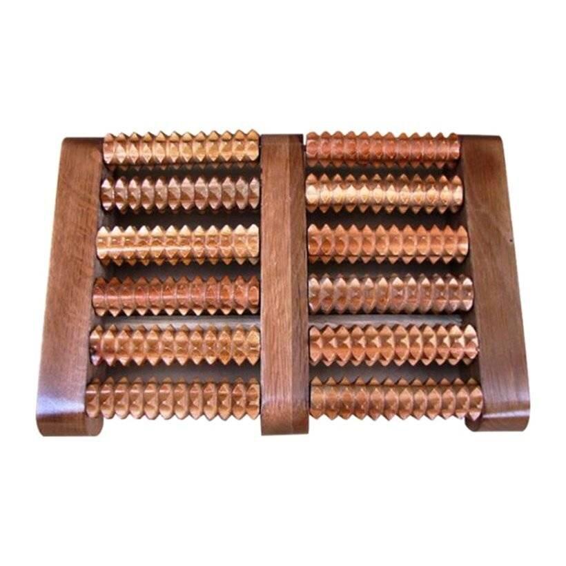 Dụng cụ massage chân bằng gỗ 6 đại Toàn Anh TA-6D