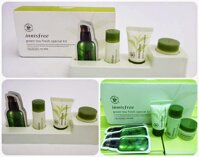 Dưỡng ẩm Innisfree Green Tea Fresh Special Kit