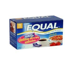 Đường ăn kiêng EQUAL hộp hiệu EQUA 25 gói