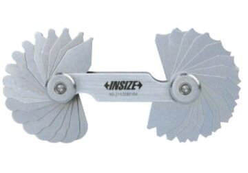 Dưỡng đo bán kính 15 lá Insize 4801-15, 25mm