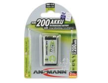 ANSMANN Pin sạc cao cấp NiMH E-200mAh
