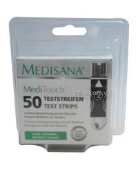 Que thử của máy đo đường huyết Medisana Meditouch (50 que)