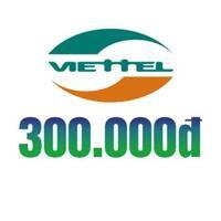 Thẻ cào Viettel 300.000 đồng