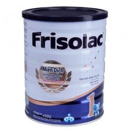 Sữa bột Frisolac 1 - hộp 400g (dành cho trẻ từ 0 - 6 tháng) ...