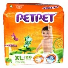 Tã giấy Petpet XL20 (dành cho trẻ trên 14kg)