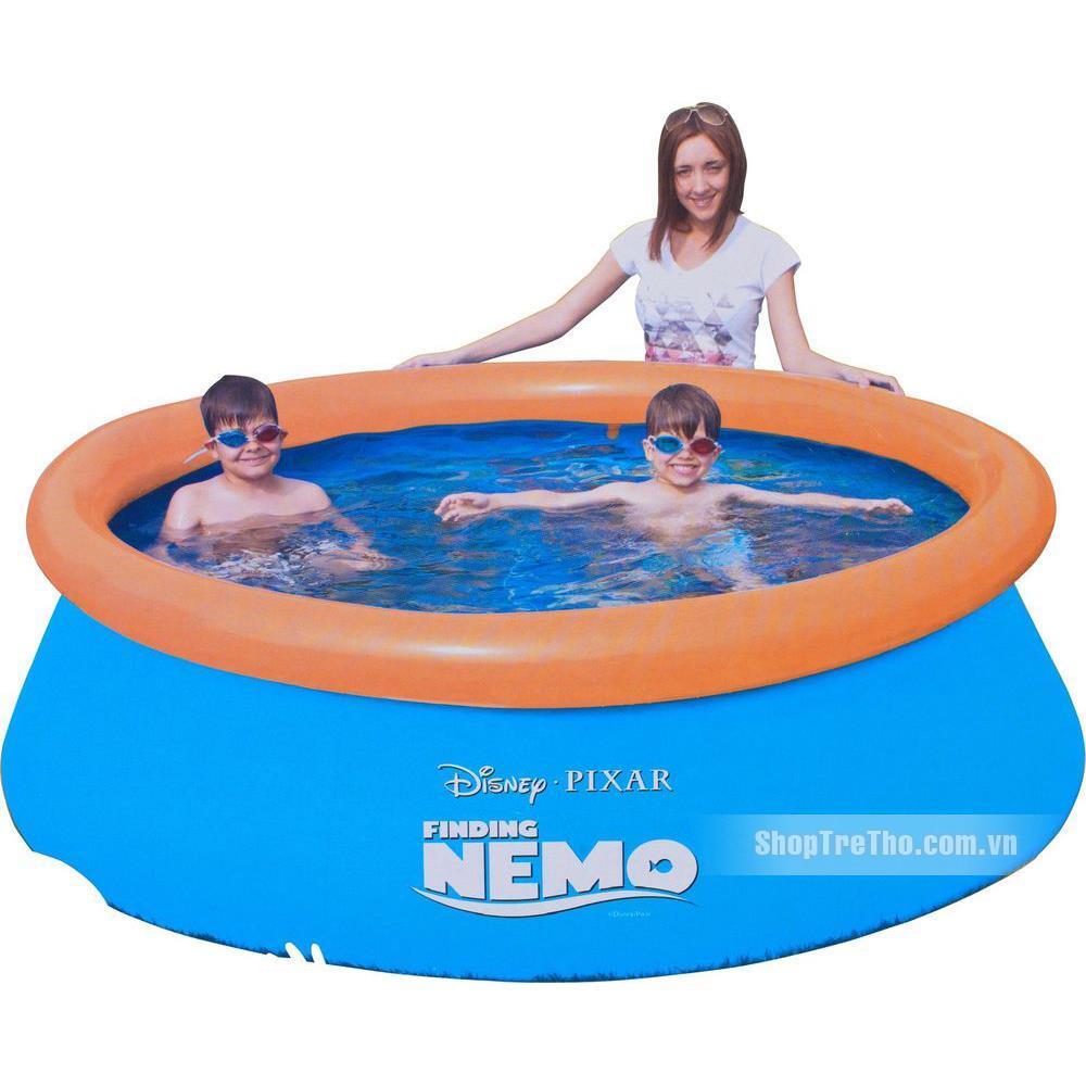 Bể phao tròn cá vàng Nemo hình 3D 91107