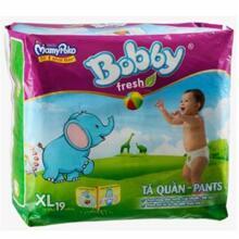 Tã quần Bobby Fresh XL19 19 miếng (12-17 kg)