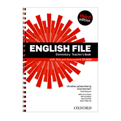 English File: Elementary - Teacher's Book With Test And Assessment CD-ROM