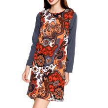Đầm dài tay Floral Md'M MD17525017-PR
