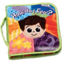 Sách vải bìa hình bé trai Lamaze LC27904