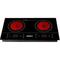 Bếp hồng ngoại đôi Sanaky AT202HGW (AT-202HGW), 4000W