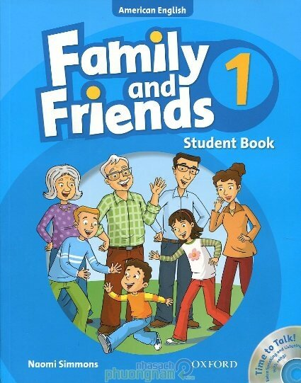 Family and Friends 1: Student Book (kèm CD) - Naomi Simmons