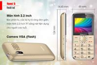 Điện thoại di động Masstel Fami 5