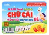 Flash card chữ cái Tiếng Việt đầu tiên cho bé