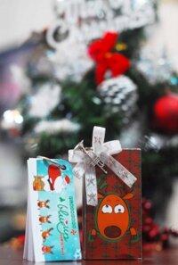 Flashcard Blueup Christmas