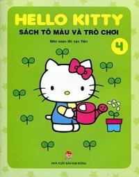 Hello Kitty - Sách Tô Màu Và Trò Chơi (Tập 4)