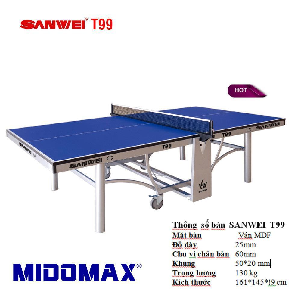 Bàn bóng bàn Sanwei T 99