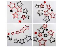 Họa tiết gỗ 3D hình ngôi sao