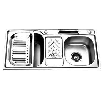 Chậu rửa bát inox nhập khẩu Picenza PZ9145 (PZ-9145)