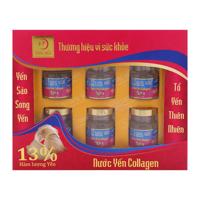 Nước yến Collagen Yến Sào Song Yến lốc 6 lọ x 70 ml
