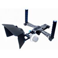 Combo thiết bị quay phim DSLR Rig + Matte Box + Rail