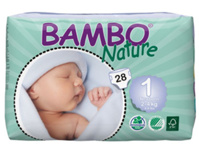 Tã dán Bambo Nature NewBorn 1 NB28