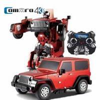 Ô tô biến hình Robot điều khiển từ xa Jiaqi TT665