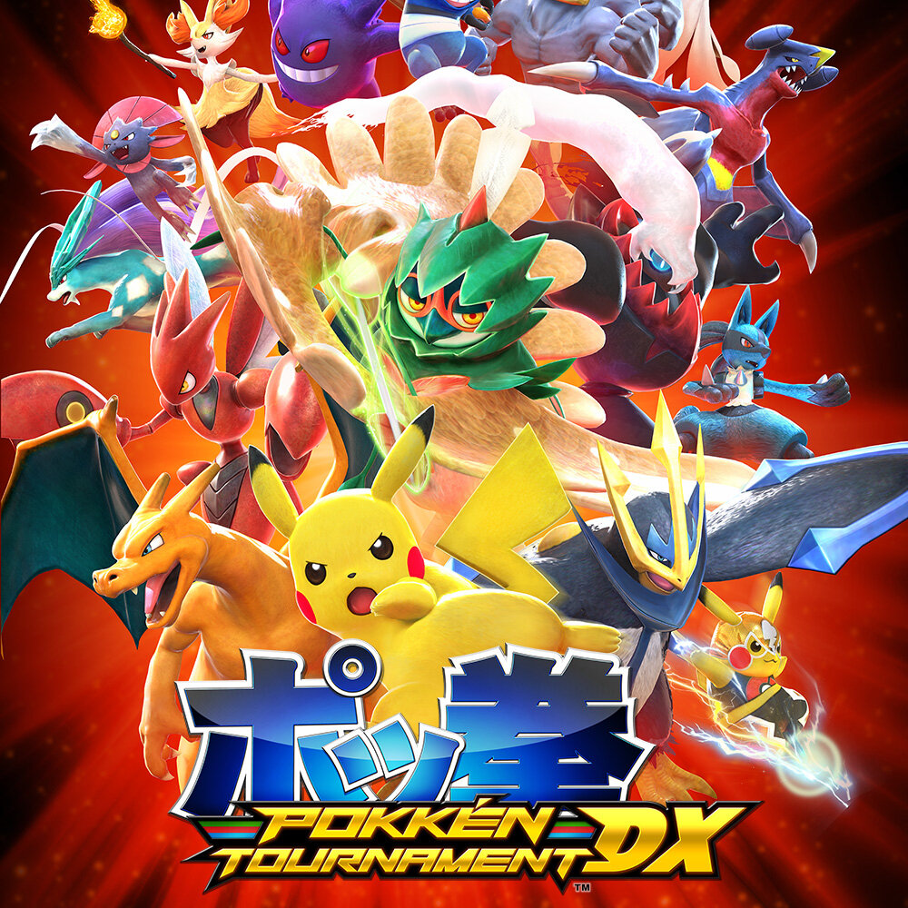 Game Card Pokken Tournament Dx - Nintendo Switch