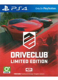 Game PS4 DriveClub Limited Edition