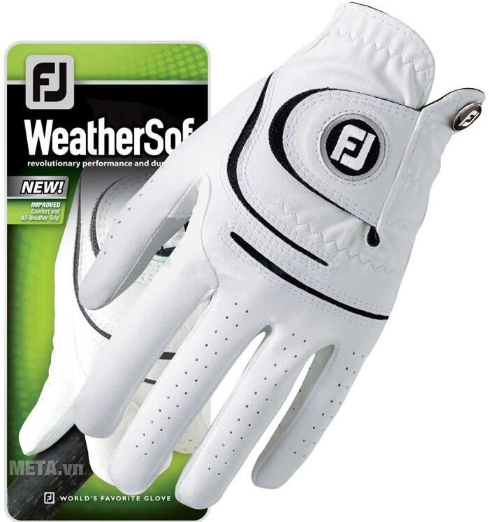 Găng tay Golf nam FootJoy WeatherSof MLH Asian HD 66298E