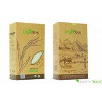 Gạo hữu cơ trắng Ngọc An Orgagro gói 1kg