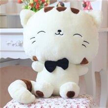 Gấu bông mèo trắng đầu to - 35cm