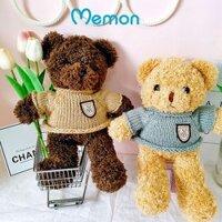 Gấu bông teddy head tales nhồi gòn cao cấp Memon