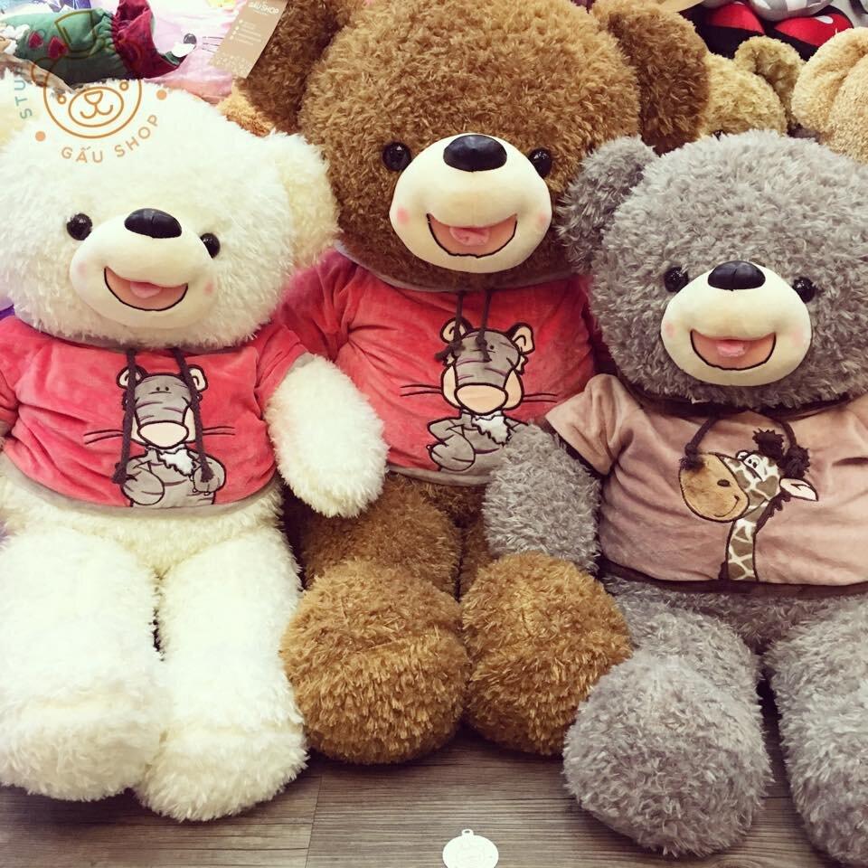 Gấu bông Teddy Smiley
