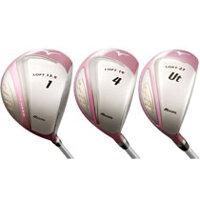 Gậy golf Mizuno 10 EFIL (W#1,4,7,U5,I/#6-9,P,S,PT) - Dành cho nữ